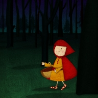 Red Riding Hood-JENNIFER FARLEY ILLUSTRATION