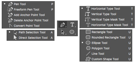 Photoshop Vector and Type Tools