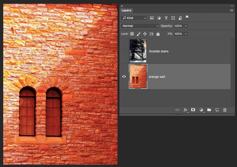 Bottom Layer - Photoshop Blending Modes