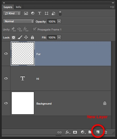 how to add a new layer in photoshop mobile