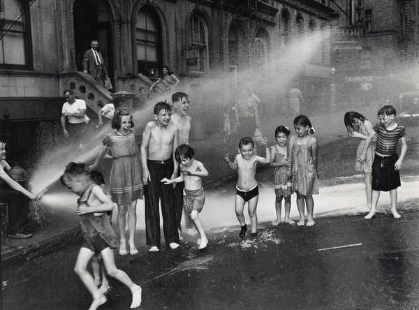 Summer, The Lower East Side, 1937.