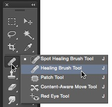 patch tool photoshop mac