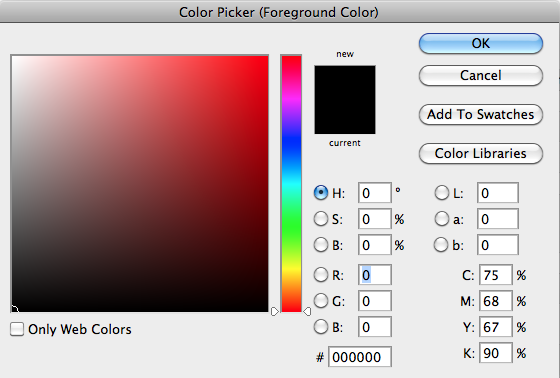Photoshop tip my photoshop color picker looks strange how do i fix colourpicker allcolours ccuart Images