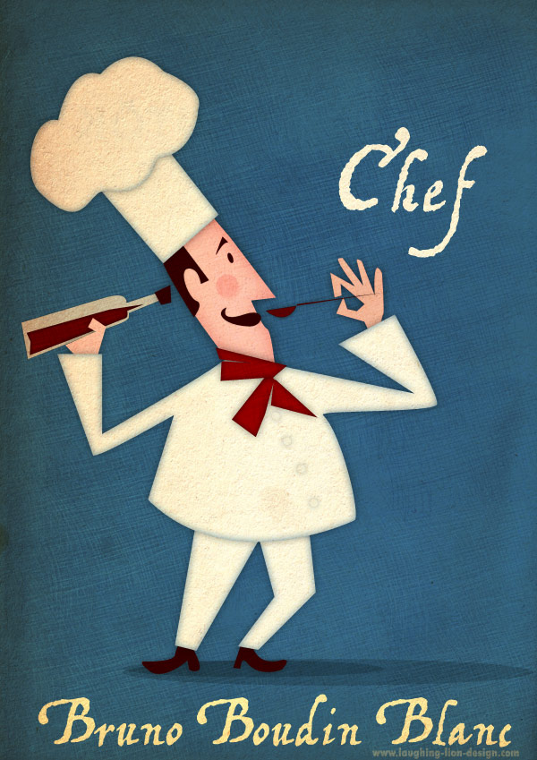Chef Illustration by Jennifer Farley