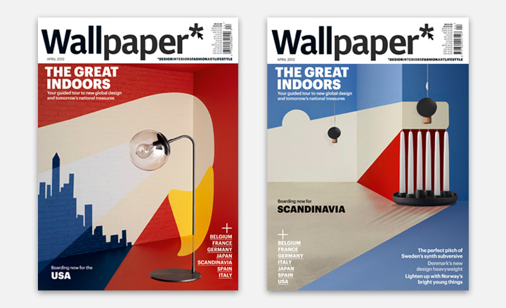 USA SCANDINAVIA WALLPAPER* COVER