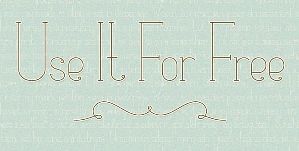 Matilde Free Font 2