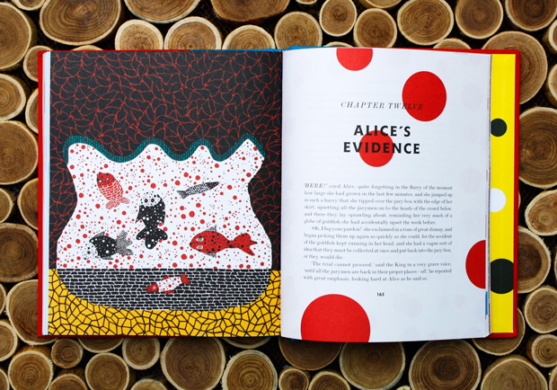 alice in wonderland kusama