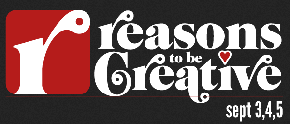 Reasons To Be Creative logo