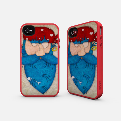 Pirate iPhone case illustrated by Jennifer Farley
