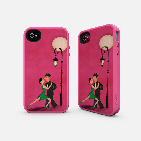 Tango iPhone Case Illustrated by Jennifer Farley
