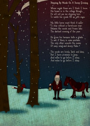 Snowy Evening Poem