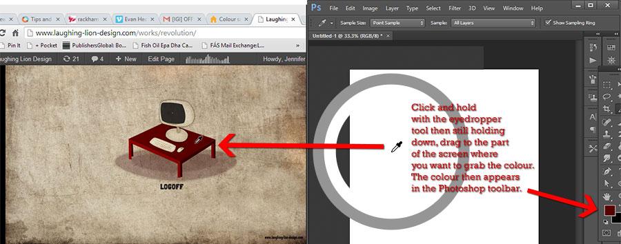 Learn Photoshop Eyedropper Tool - bapugraphics.com