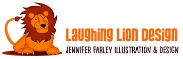 Laughing Lion Design - Jennifer Farley Illustration