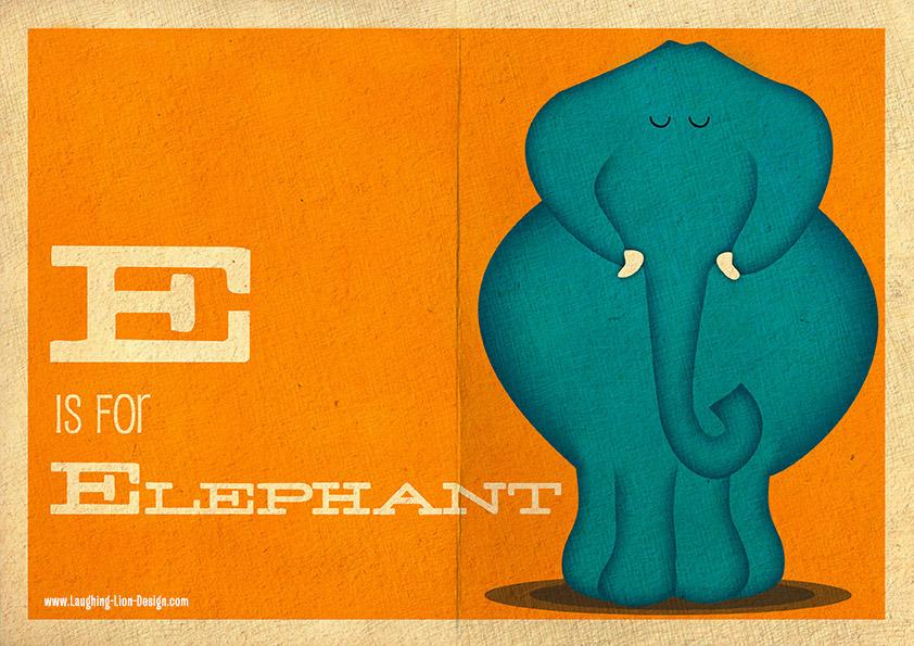 ELEPHANT ILLUSTRATED BY JENNIFER-FARLEY