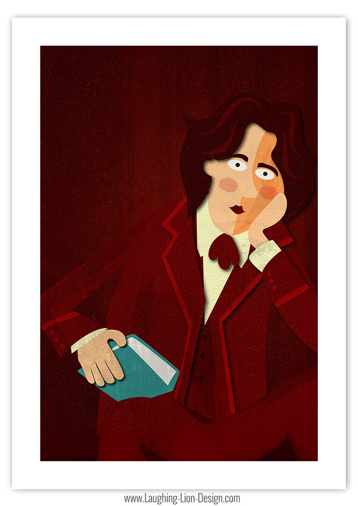 Oscar-Wilde-Illustrated-By-Jennifer-Farley