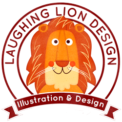 Laughing Lion Design - Illustration & Design - Learn Photoshop & Illustrator