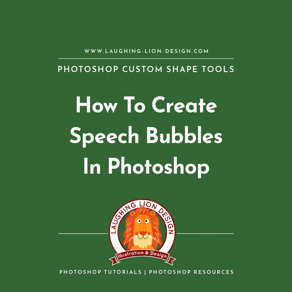 How-To-Make-Speech-Bubbles-In-Photoshop-With-Custom-Shape-Tools