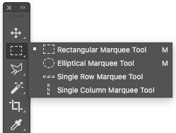 01 - Marquee Tools - Photoshop Selections