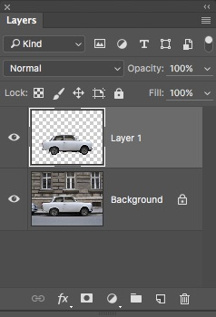 17 - Duplicate Selection Onto New Layer
