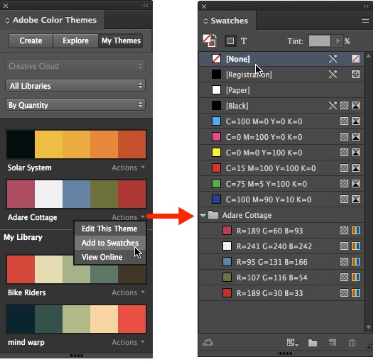 How To Create A Colour Palette From A Photo Using Adobe Color