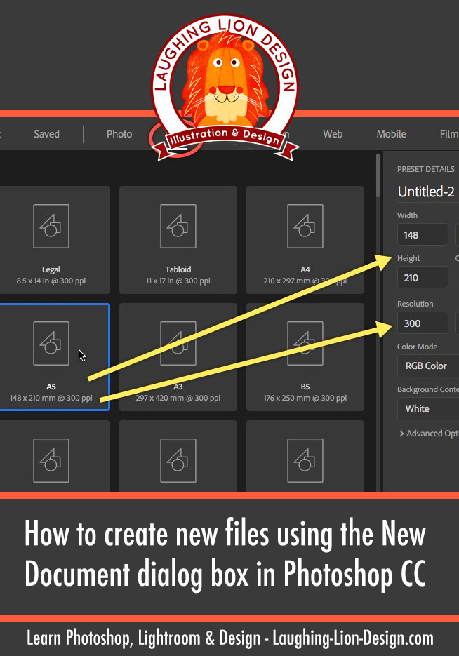 how-to-create-new-files-with-the-new-document-dialog-photoshop