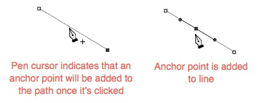 8 - Add Anchor Point To Line
