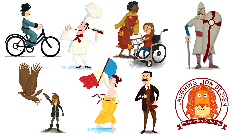 Characters Illustrated by Irish Illustrator Jennifer Farley